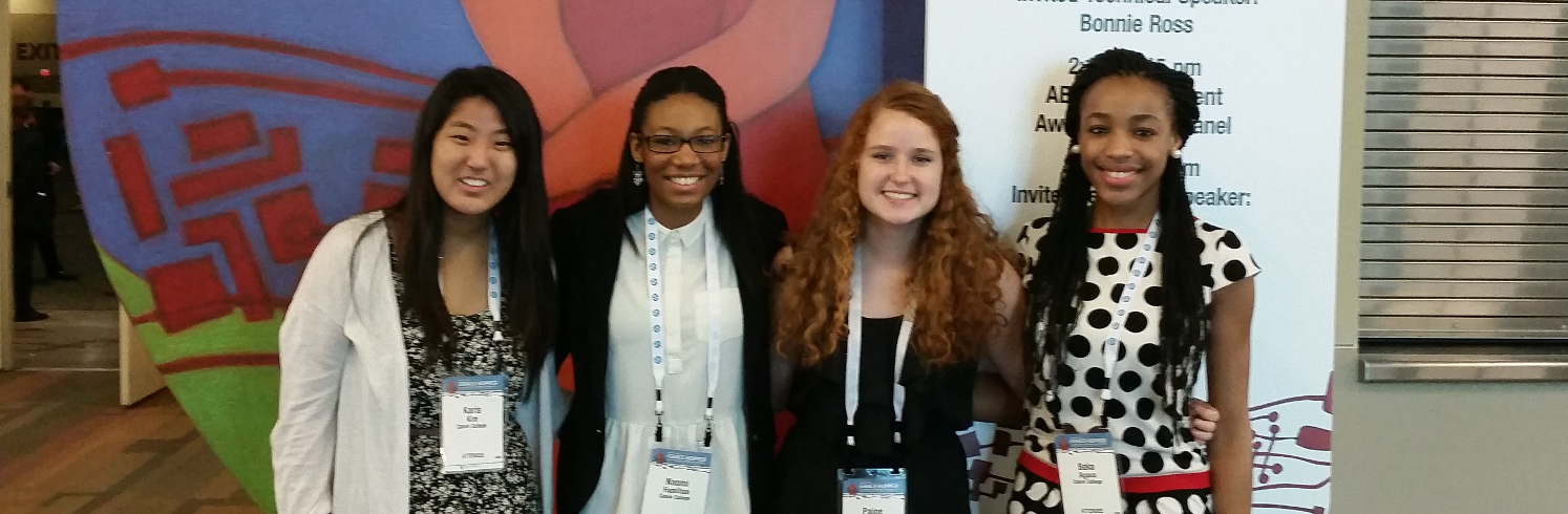 Faculty and students attend the Grace Hopper Convention